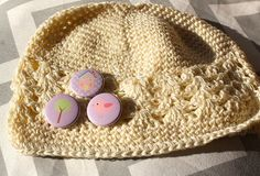 House Birdy and Tree Cute Crochet Little Kids Hat  by willowbeshop, $15.00