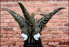 "Mother of Faces headdress made for indie film ""The Search"" based on #avatar, photo by Nic Adams"