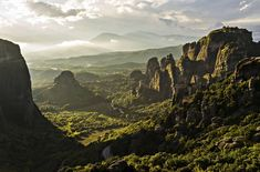 Meteora is one of the few areas in the world where the combination of natural beauty with monasteries and religious traditions makes it an attraction for visitors worldwide #Unesco #Meteora #Thessaly #Greece #Monterrasol #travel #privatetours #customizedtours #multidaytours #roadtrips #travelwithus #tour #nature #sunset #mountains #beautiful #thisisgreece #destination #tourism #beauty #orthodox #monastery #faith Landscape Photography, Travel Photography, Pretty Landscapes, Tim Beta, Natural Scenery, I Want To Travel, Planet Earth, World Heritage Sites, Wonders Of The World