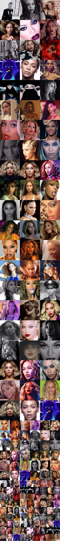 Stills from Beyoncé's BEYONCÉ music videos!