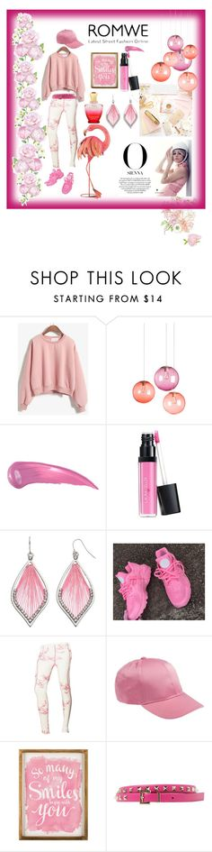 """""""pinkish blush"""" by naherkhan on Polyvore featuring Fatboy, Anastasia Beverly Hills, Laura Geller, Helly Hansen, Disney, WALL, Valentino and Creed"""