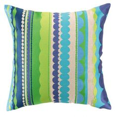 Carmel Decor - Trina Turk Embroidered Decorative Pillow $170.00