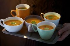 A simple Spicy pumpkin broth recipe for you to cook a great meal for family or friends. Buy the ingredients for our Spicy pumpkin broth recipe from Tesco today. Spiced Pumpkin Soup, Toasted Pumpkin Seeds, Pumpkin Spice, Tesco Real Food, Real Food Recipes, Vegetarian Recipes, Cooking Recipes, Soup Starter, Bariatric Recipes