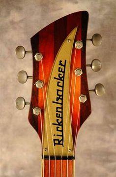 Vintage Rickenbacker Guitar Headstock