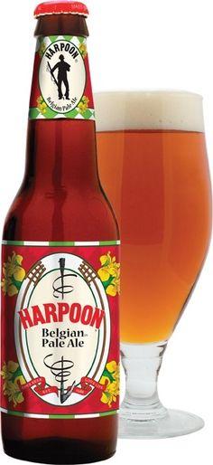 Cerveja Harpoon Belgian Pale Ale, estilo Belgian Pale Ale, produzida por Harpoon Brewery, Estados Unidos. 5.8% ABV de álcool.