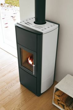 LIVIA , Wood Burning Stoves by Palazzetti
