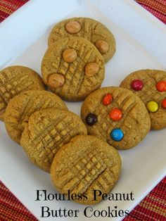 Flourless Peanut Butter Cookies - Been There Baked That