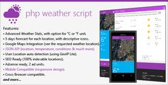 #PHP #Weather #Script #Metro - CodeCanyon Item for Sale