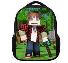 Minecraft Backpack Schoolbag Style 1 FREE SHIPPING