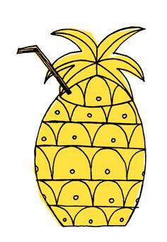 Pineapple surprise!