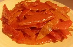 Orange Peel Candy