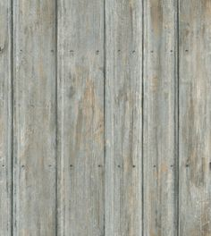 Timber (TI04-DRIFTWOOD) - Andrew Martin Wallpapers - A soft wood panel design with a weathered effect, shown in grey creating a stripe effect. Please request a sample for a true colour match. Free pattern match. Wide width