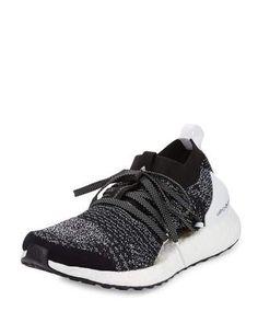 newest 2e5bb 4facb adidas by Stella McCartney Ultra Boost X Knit Sneaker, Black White
