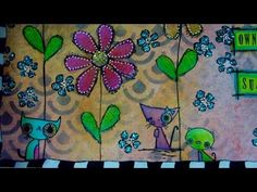 Art Journal Page - Bring Your Own Sunshine  by RachO113