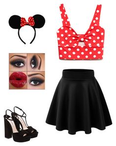 """•Minnie•"" by madivball092402 ❤ liked on Polyvore"
