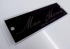dressmaker nameplate http://www.de-signage.com/Officesigns.php