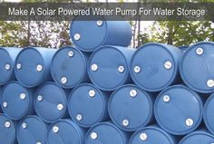Sponsored Link This is an excellent tutorial for anyone who would like to connect a solar powered water pump to their water storage barrels and for easier watering. In this scenario, the finished assembly is able to pump water 125 feet and uphill to reach the garden area. The garden is approximately 800 square feet …