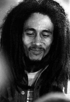 """""""One thing about music when it hits you feel NO pain""""- Bob Marley (One of my quotes that I'm gonna paint on people for the Hip Hop festival! Bob Marley Legend, Reggae Bob Marley, Bob Marley Pictures, Marley And Me, Skip Marley, Marley Family, Jah Rastafari, Robert Nesta, Nesta Marley"""