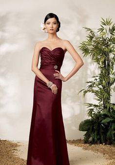 Madrinhas de casamento: Vestido festa vinho
