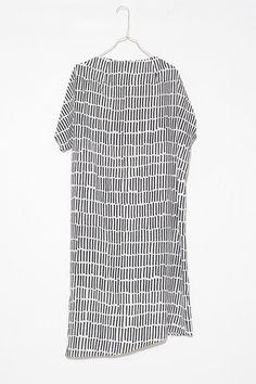 Striped Dak Dress by Christian Wijnants