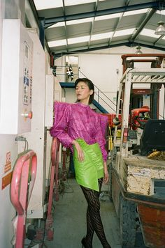 Leanda Heler for Schön Magazine with Ruinan Fashion Editorials is part of Editorial fashion - Photography Leanda Heler Stylist Helen Mcguckin Hair & Makeup Sophie King Model Ruinan at Premier Model Management Foto Fashion, 80s Fashion, Fashion Shoot, Editorial Fashion, Fashion Models, High Fashion, Fashion Trends, Berlin Fashion, Fashion Photography Inspiration