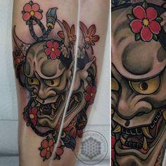 Hannya Tattoo, Logan, Tattoos, Tatuajes, Tattoo, Tattos, Tattoo Designs