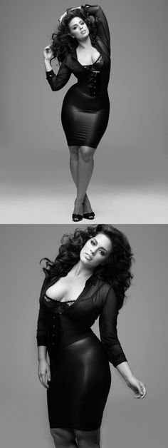 Fabulous curves, just goes to show 'plus sized' can be utterly yummy too!' #effyourbeautystandards Ashley Graham Plus-sized model Gorgeous! | Fashion Glamour