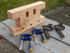 "Build a ""Bench Bull"" – a simple bench jig that can make your woodworking operations a little easier...even if you don't have a ""proper"" workbench."