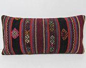 12x24 fertility kilim pillow bohemian pillow sham turkish fabric cotton pillow case ethnic pillow ethnic cushion hippie pillow cover 26571