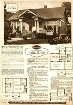 The Sears Crescent, from the 1928 catalog.