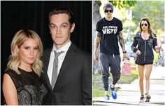 Ashley Tisdale with husband Christopher French