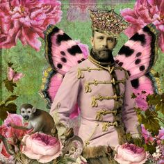 some day my prince will come  by Wendy Aspinall  Digital    kits from itkupilli  red herring and luscious floral