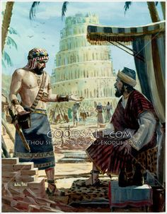 """Genesis The Mythical 'tower of Babel"""" Bible Photos, Bible Images, Bible Pictures, Jesus Pictures, Scripture Art, Bible Art, Tower Of Babel, Bible Illustrations, Biblical Art"""