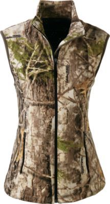 Stay warm with this camo vest - whether you're in the field or around a campfire.
