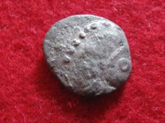 Celtic Silver coins Panonian tribe,Rare coins 13,5mm