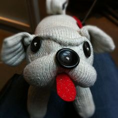 Sock Pug MADE TO ORDER by katarinathorsen on Etsy, $55.00
