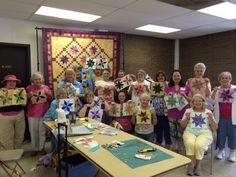 Lemoyne Star class taught by Pam at Sager Creek Quilts