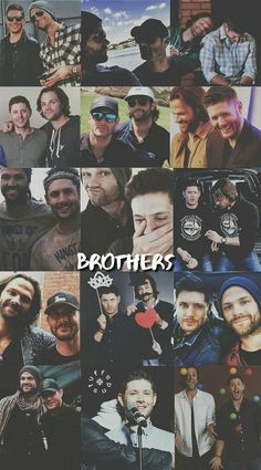 Find images and videos about supernatural, brothers and on We Heart It - the app to get lost in what you love. Supernatural Fans, Supernatural Pictures, Supernatural Wallpaper, Supernatural Tattoo, Supernatural Seasons, Sam Winchester, Winchester Brothers, Dean Winchester Imagines, Jensen Ackles Jared Padalecki