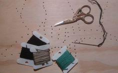 #proceso #corbatadeamarillo #bordadoexperimental