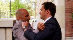 Tony beating up Trent