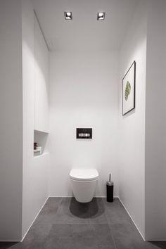 Minimalist Bathroom / Toilet Kartell By Laufen Shelf Reveal Is Nice Feature.
