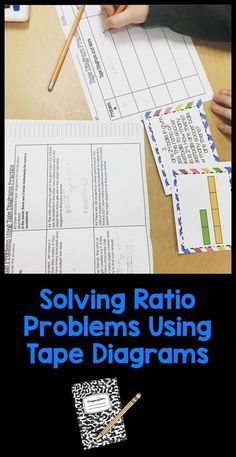6rp3b solve unit rate problems with a double number line solving ratio problems with tape diagrams interactive notebook ccuart Gallery
