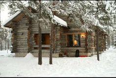 Snow covered Log Cabin Living, Log Cabin Homes, Log Cabins, Rustic Cabins, Winter Cabin, Cozy Cabin, Cozy Winter, Snow Cabin, Cozy Nook