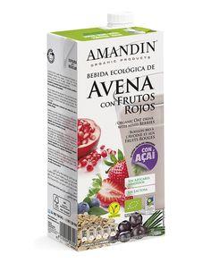 Una bebida simplemente para disfrutar. A todas horas. La nueva bebida de avena con frutos rojos con açaí, la super fruta del amazonas.