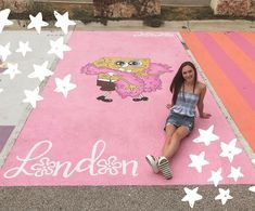 Parking Spot Painting, Parking Spots, Senior Year Of High School, Space Painting, Senior Trip, And So The Adventure Begins, Wall Collage, Senior Pictures, School Ideas