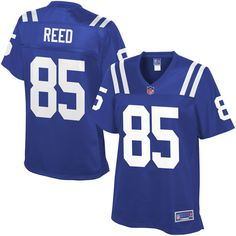 NFL Pro Line Women's Indianapolis Colts David Reed Team Color Jersey - $99.99 https://www.fanprint.com/licenses/indianpolis-colts?ref=5750