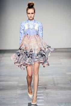 Mary Katrantzou Fall/Winter 2012