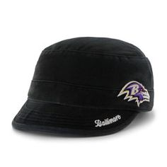 '47 Brand Baltimore Ravens Infant Basic Team Logo Adjustable Hat - Black