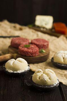 Yerbabuena en la cocina: HAMBURGUESA OTOÑAL CON MEMBRILLO Y CABRALES PARA #LEKUEBURGUER