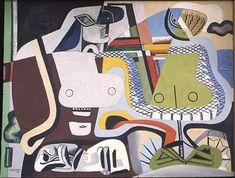 Deux femmes fantasques - Le Corbusier  1937